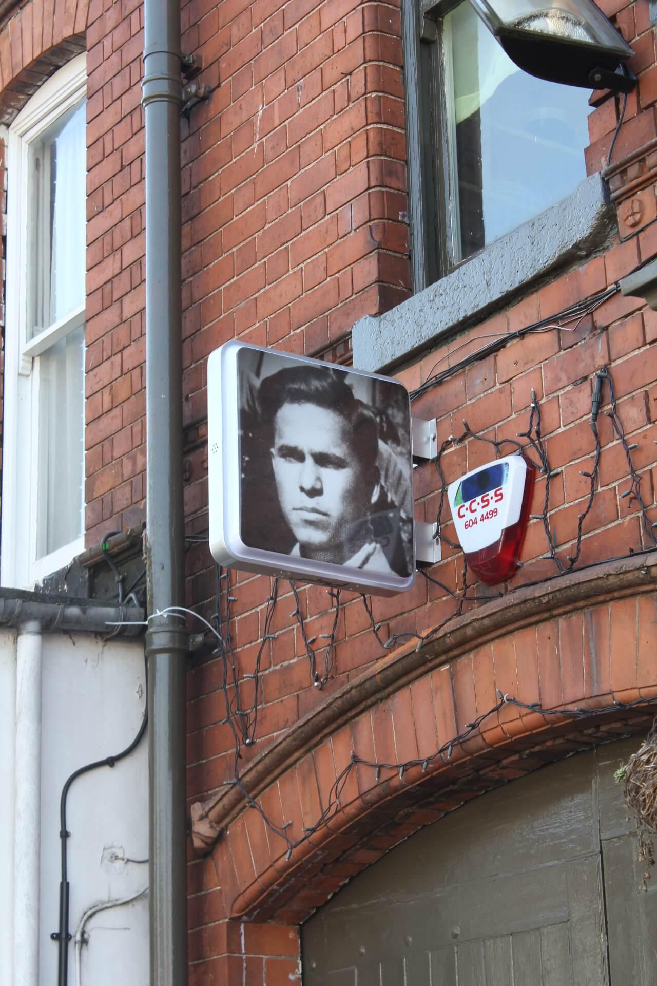 F.light Birmingham sign